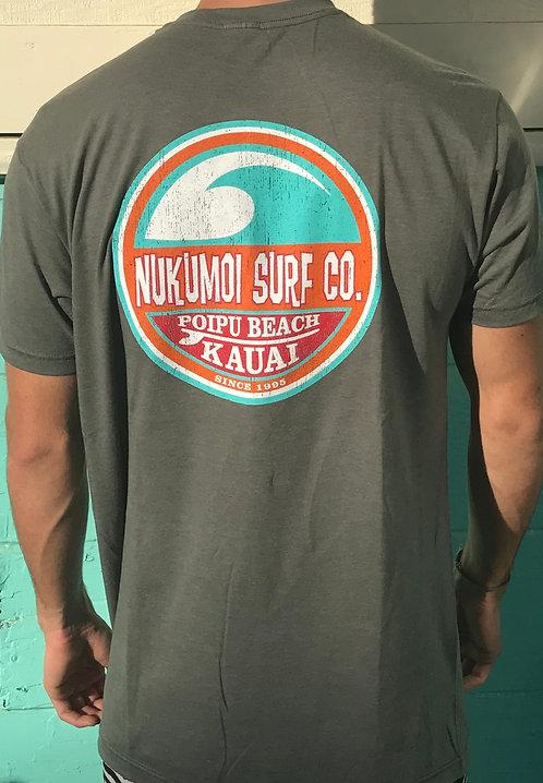 Nukumoi Retro Wave Mens T