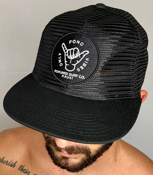 608f2c0f422a22 Nukumoi Meshback All Mesh Flat Bill Hat