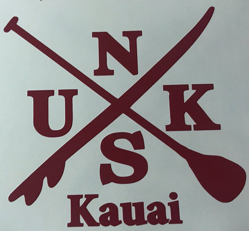 NUKS Cross Decal