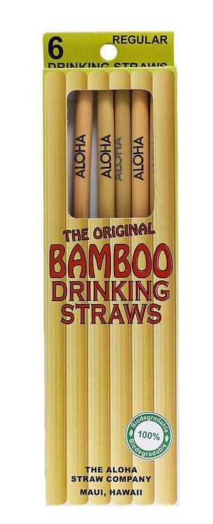 The Original Bamboo Straws Regular