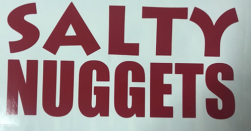 Salty Nuggets Decal