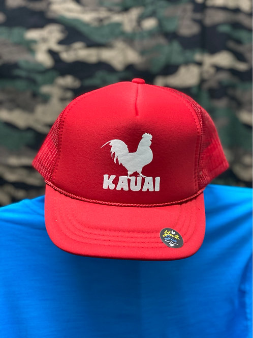 Kauai Chicken Youth/Small Icon Trucker