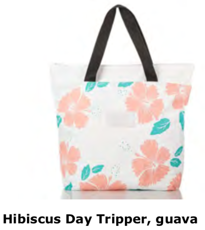Aloha Collection Hibiscus Day Tripper Tote