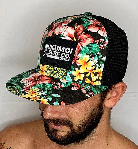 Nukumoi Patch Flat Bill Hat