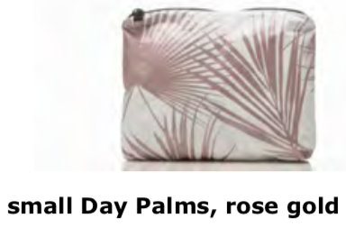 Aloha Collection Palms Rose Gold Small Bag