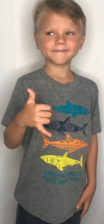 Nukumoi Kids Sharky Tee