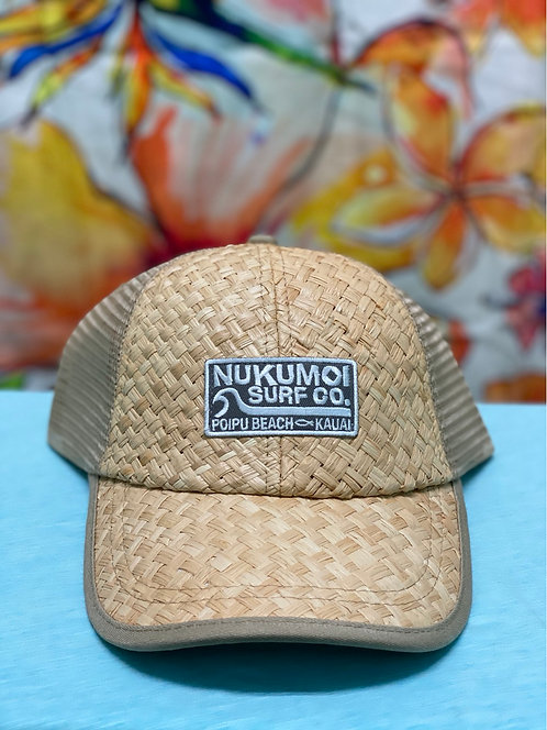 Nukumoi Patch Woven Hat