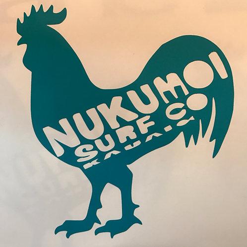 Nukumoi Chicken Decal