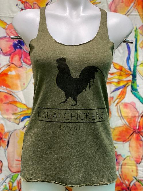 Kauai Chicken Stance Tank