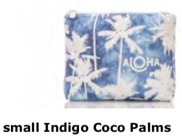 Aloha Collection Coco Palms Indigo Small Bag