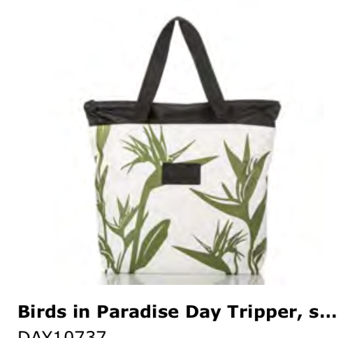 Aloha Collection Birds in Paradise Day Tripper Tote
