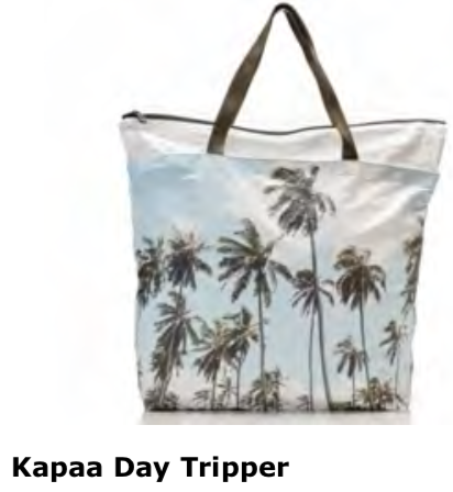 Aloha Collection Kapaa Palms Day Tripper Tote