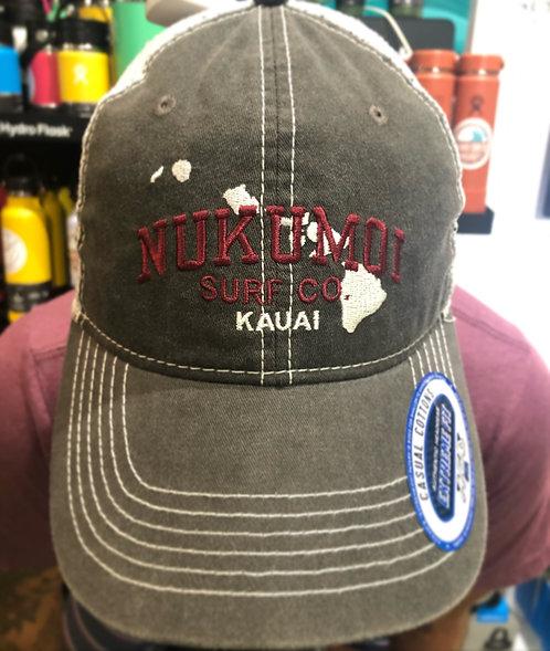 Nukumoi Surf Washed Mesh HI Hat