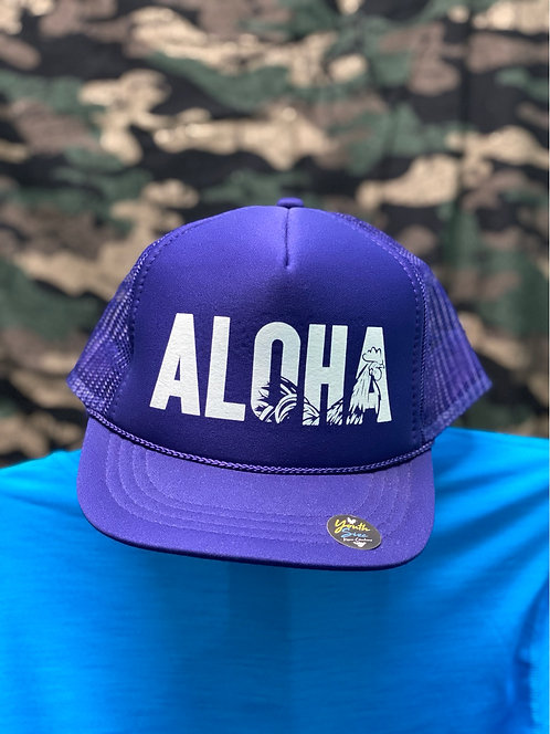 Kauai Chicken Youth/Small ALOHA Trucker