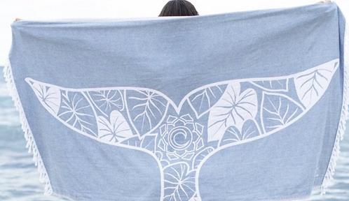 Surf Into Yoga Turkish Towel