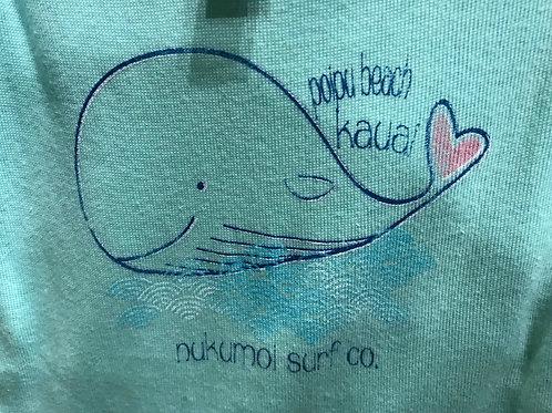 Nukumoi Whale Washi Onsie