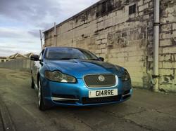 Jaguar XF Vinyl wrap scotland