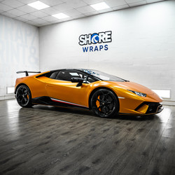 Lamborghini Wrapped Orange