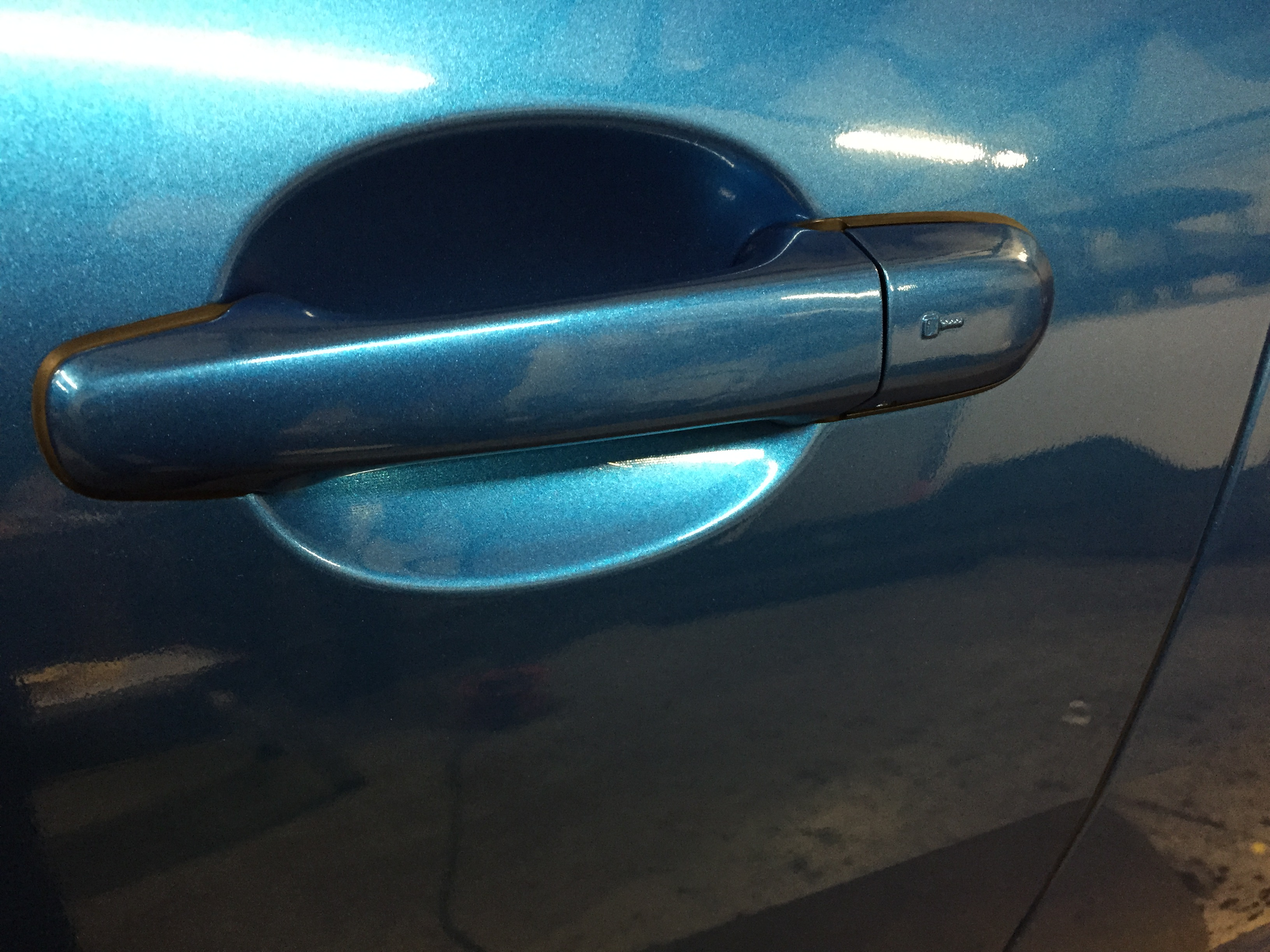 Jaguar XF Wrap door handles