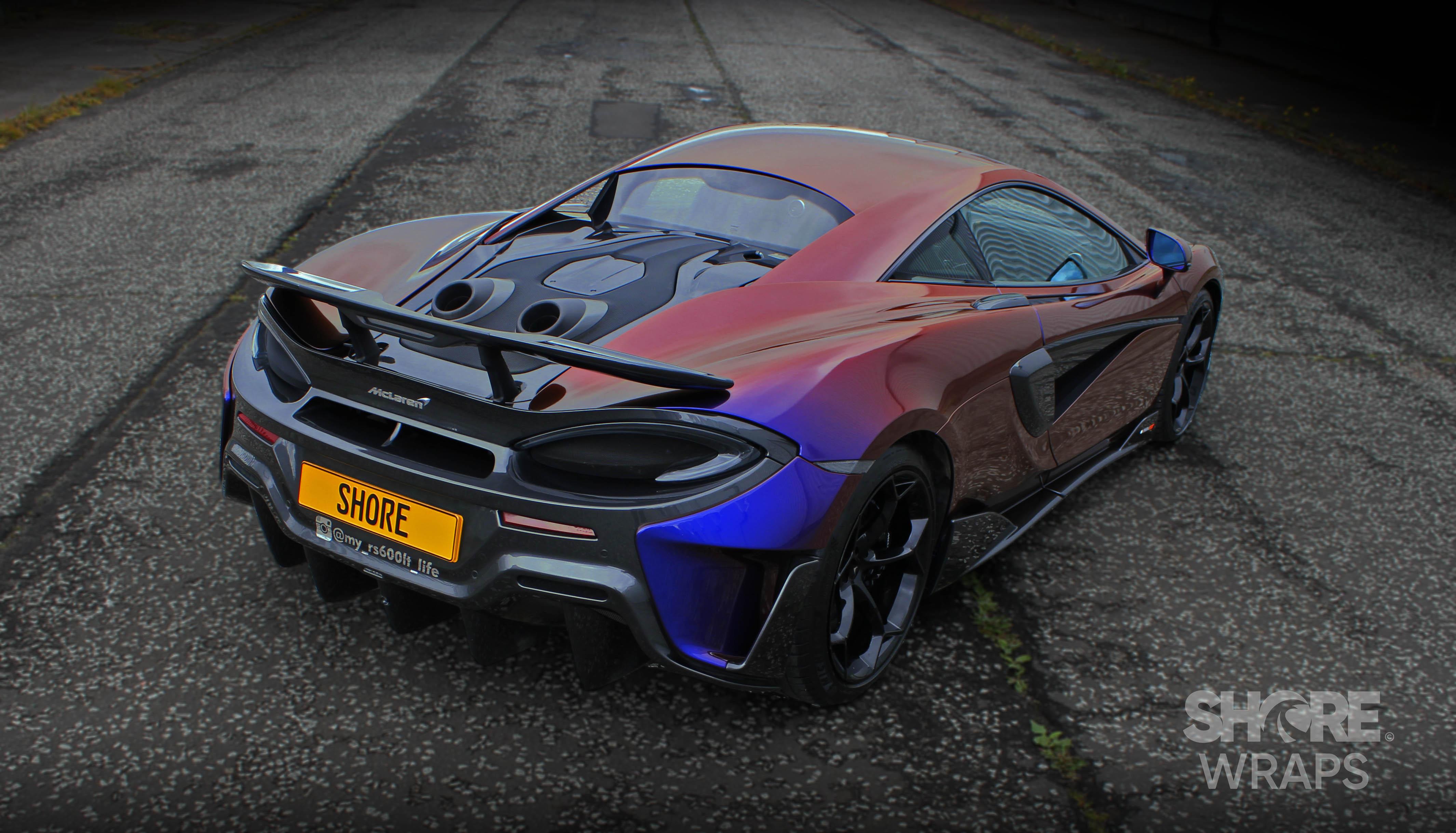 McLaren 600 Lt Wrap
