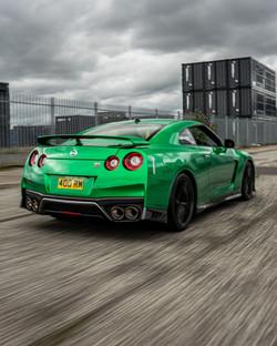 Nissan GTR Gloss Green Envy