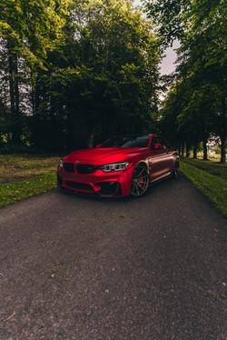 Satin Red Chrome M4