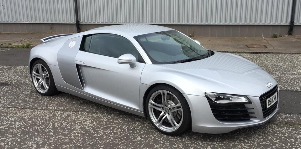 Audi R8 Colour Change