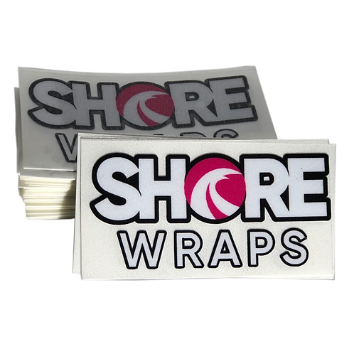 Shore Wraps Stickers (PINK)