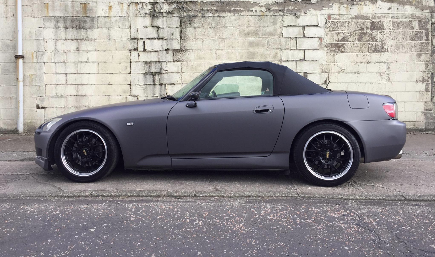 Finished S2000 wrapped Matt Gunmetal Grey_edited