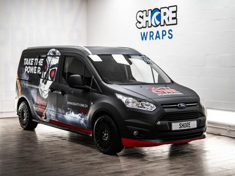 Eighty One Energy Van Wrap