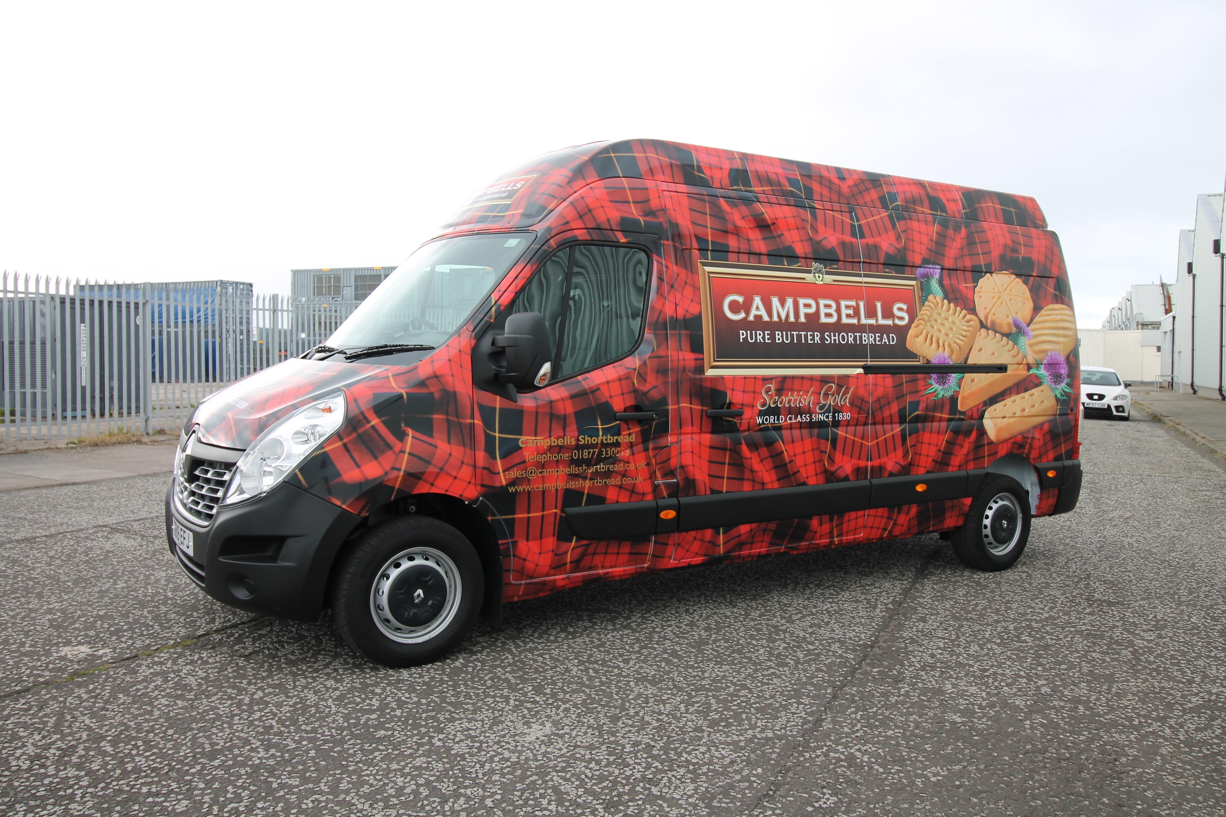 Campbells Van Wrap