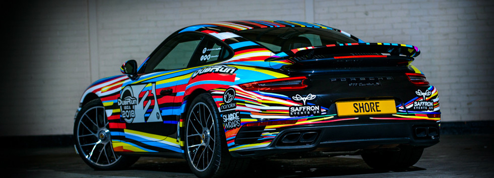 Colourful Car Wrap