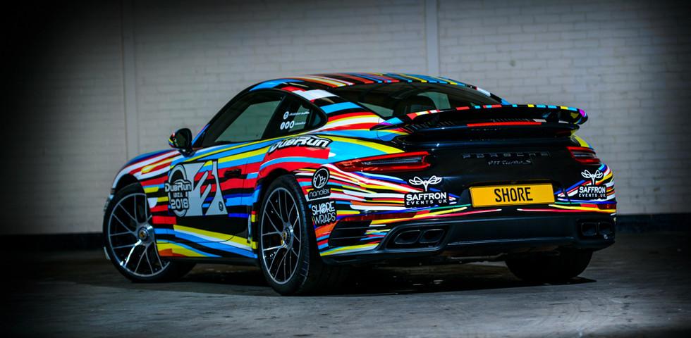 Colourful Car Wrap