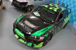 Rally car Graphics