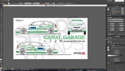 Canal Garage Rally Car