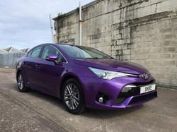 Toyota Avensis Purple
