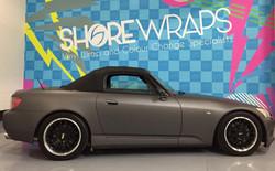 Honda S2000 wrapped matt grey_edited
