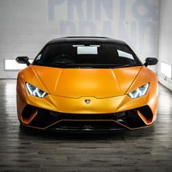 Performante Lamborghini wrapped