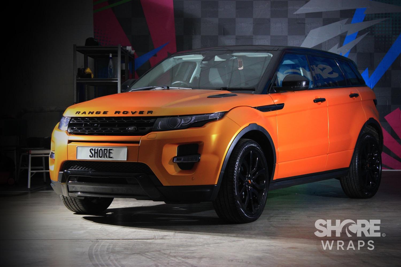Range Rover Evoque Wrap