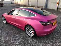 Tesla Model 3 Wrap
