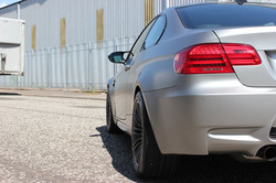 BMW M3 Satin Silver rear