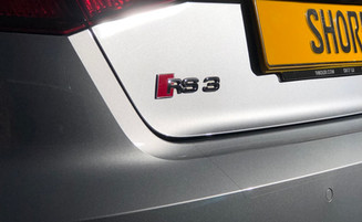 RS3 Paint Protection Rear