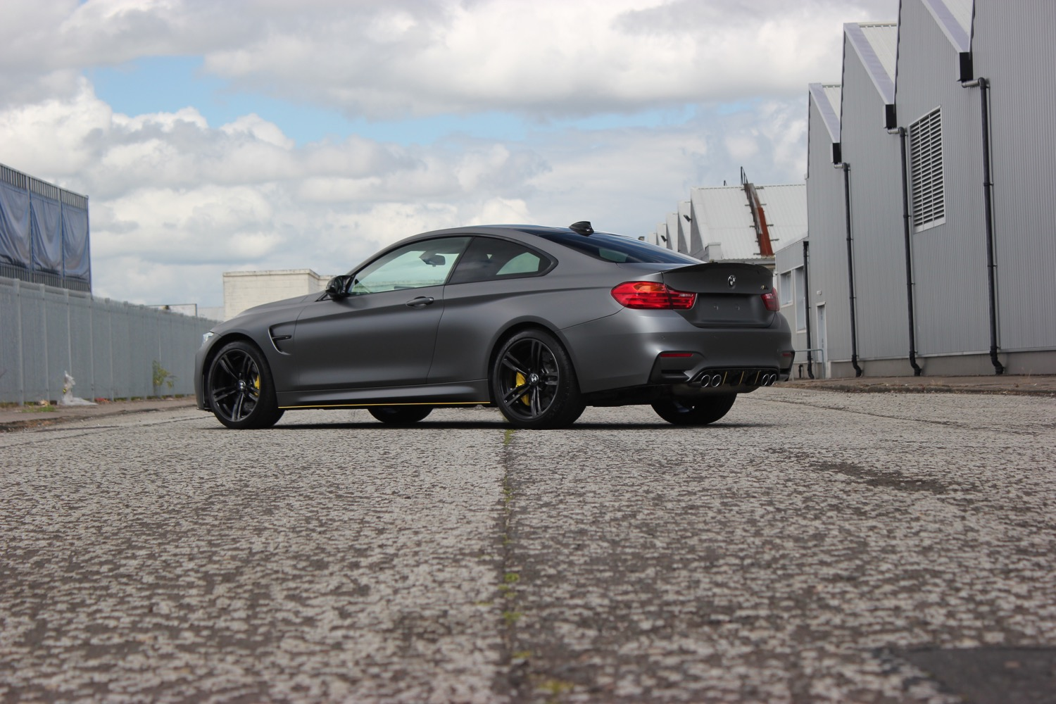 BMW M4 Matt Grey