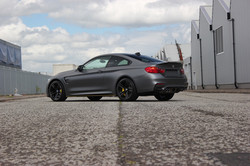 BMW M4 Matt Grey