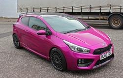 Pink Kia Wrap