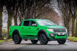Ford Ranger Hulk Wrap