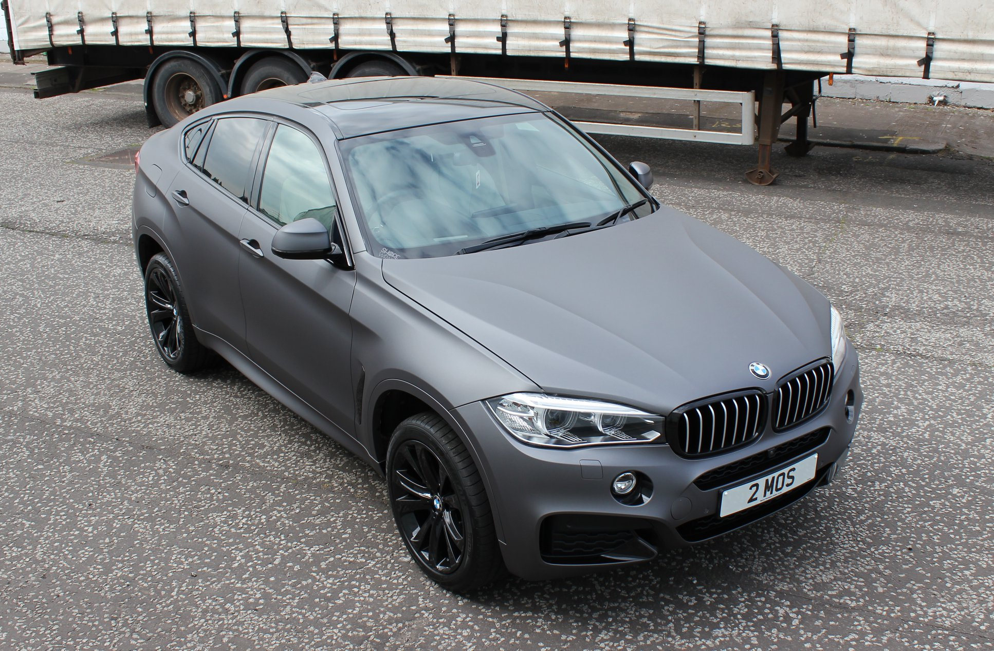 BMW X6 Matt Grey