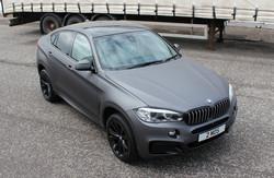 BMW X6 Matt Grey