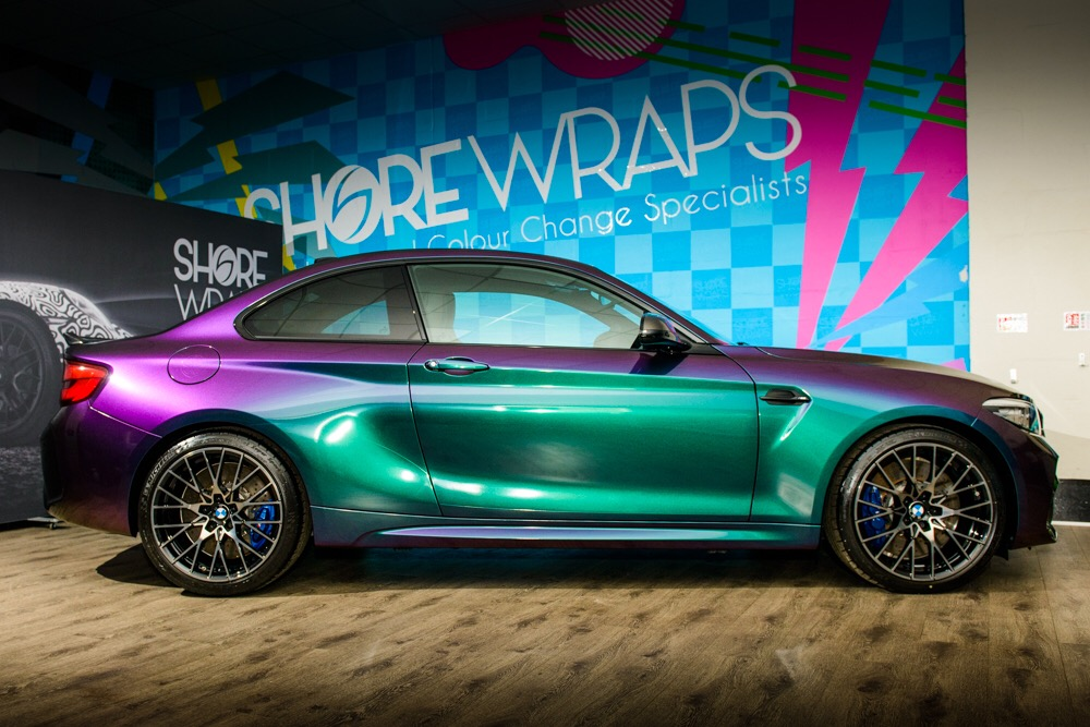 BMW M2 Wrap