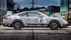 Porsche 911 printed wrap